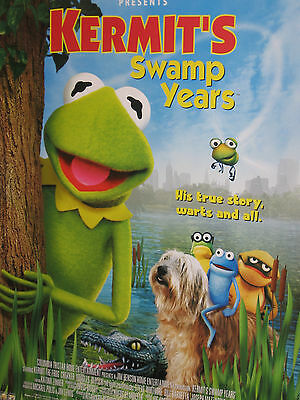Kermit's Swamp Years Promotional Poster Jim Henson Cree Summer Muppet Performers
