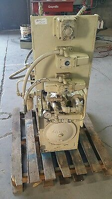 "Vickers 7.5 HP Hydraulic Power Unit 2000 PSI ""Shipping Available ""   #1328W"