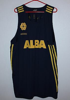 Vintage Alba Berlin Germany basketball shirt jersey Adidas Size XXL