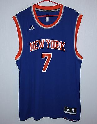 New York Knicks NBA shirt jersey #7 Anthony Adidas Size L