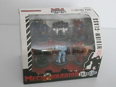 Mechwarrior  2007 WIZKIDS Solaris VII Light Action Pack  NEW IN THE BOX