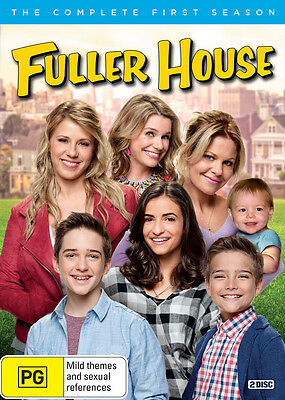 BRAND NEW Fuller House : Season 1 (DVD, 2017, 2-Disc Set) R4 Full