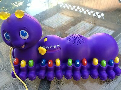 Leap Frog Walk Along Learning Caterpillar Batteries Included Pick Up Only