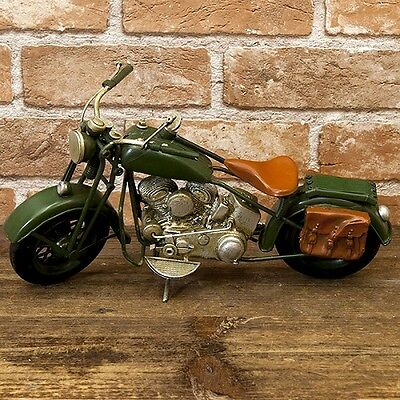 model vintage tin plate Army motorcycle free shipping!1504A-7309