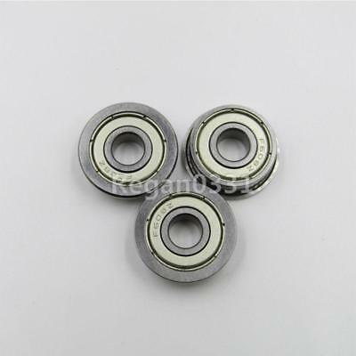 New 10pcs Flange Ball Bearing F608ZZ 8*22*7 mm Metric flanged Bearing