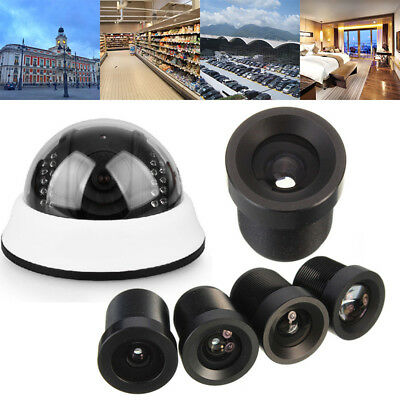 2.8mm 3.6mm 6mm 16mm CCTV Camera Fixed Board Lens For 1/3'' Security CCD Black