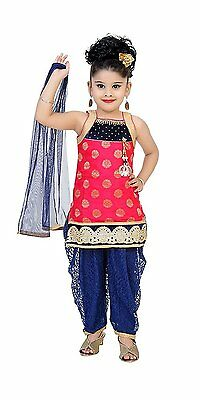 Baby girl Lace Net Salwar suit Indian Ethnic party wear bollywood 0-36months