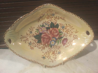 Collectable Maling China Dish Rosalind  Lustreware Hand Painted Pattern 6546