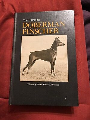 The Complete Doberman Pinscher Hardback Book 320 Pages 1974