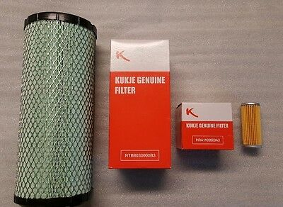 New Brason & Century Tractor Filter Kit - Includes Hydraulic, Engine Oil & Fuel
