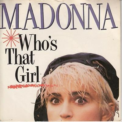 "Who's That Girl/White Heat 7"" : Madonna"