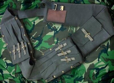 British Sas Special Forces Sterling Smg Assault Pack Bandolier Webbing Chest Rig