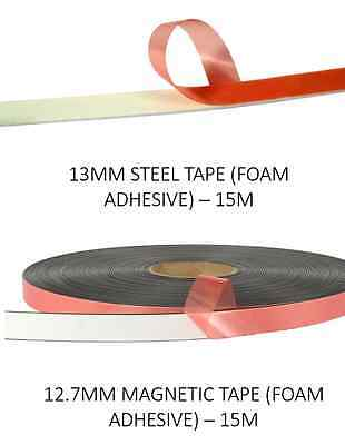 Secondary Glazing Kit (15m Magnetic Tape, 15m Steel Tape) £25.50