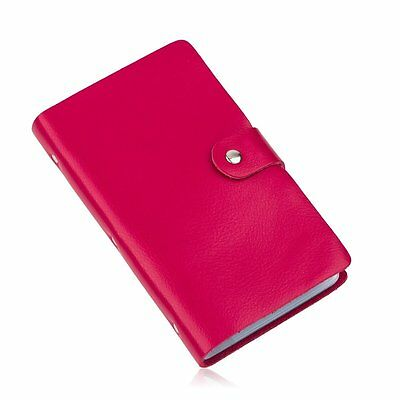Valentines Day Gift Leather Business Card Case Credit Card ID Holder Women Lady