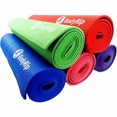 BUY 1 GET 1 FREE THICK FOAM YOGA PILATES GYM MAT 6mm SPORT ASSORTED COLOURS