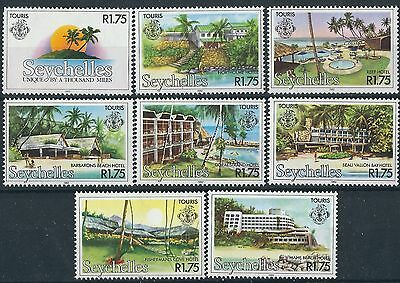 n316) Seychelles. 1982. MNH. SG 538 to 545. Tourism