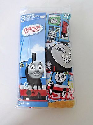 Thomas And Friends Toddler Boys Briefs Underwear 3 Pack Size 4T Thomas The Train