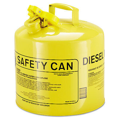 Type I Safety Can, 5gal, Yellow