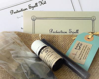 Protection Spell Kit - WICCA WITCH Clearing and Protection