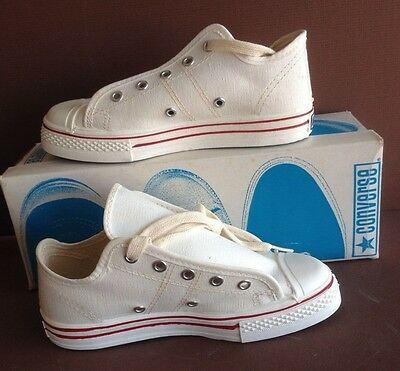 Vintage Converse Lot, USA Made, STRAIGHT SHOOTERS, WHITE, 6 Pairs, V. Sizes