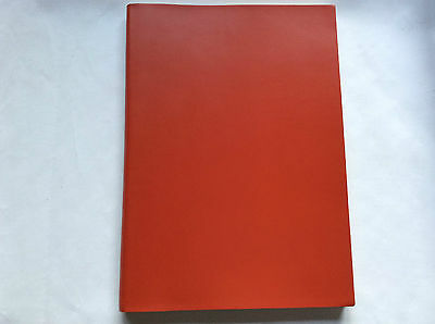 Pinetti Journal NOT refillable  A4  21 x 29,7 smooth leather Red