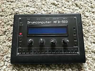 Mfb 503 Drumcomputer (Analog Drum Machine - Clone 909)