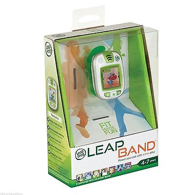Green Leap Frog Leap Band Activity Tracker on Watch Strap Pet - RRP £29.99