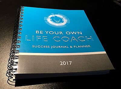 "Success Journal Planner ""be Your Own Life Coach"" Day-Timer 2017 Calender"