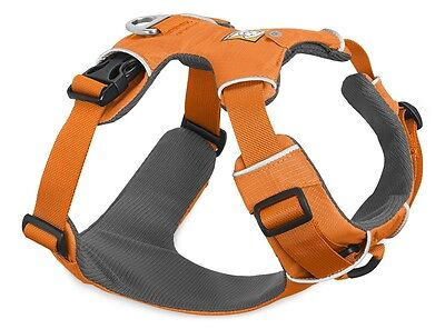 Ruffwear Front Range Dog Harness 30501/801 Orange Poppy NEW