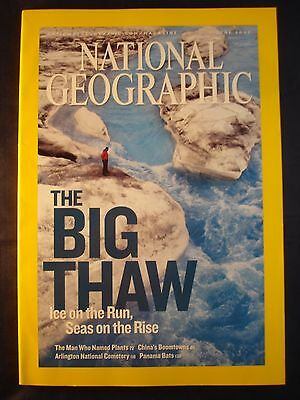 National Geographic - June 2007 -  The big thaw
