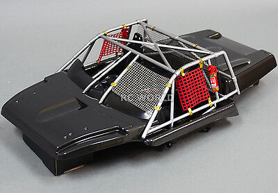1/10 Scale RC Truck Short Course Body INTERIOR COCKPIT W/ ROLL CAGE - Finished