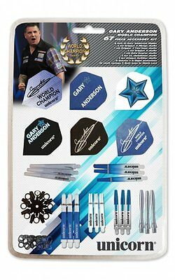 Unicorn - Gary Anderson 64 Piece Accessory Kit Flight Flights Shaft Schäfte