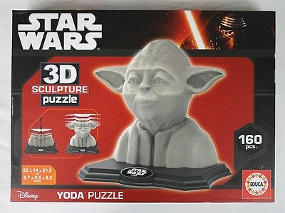 Star Wars 3D sculpture puzzle - Yoda - 160 pièces - neuf