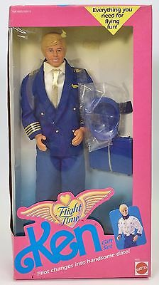 Flight Time Ken Gift Set Nib