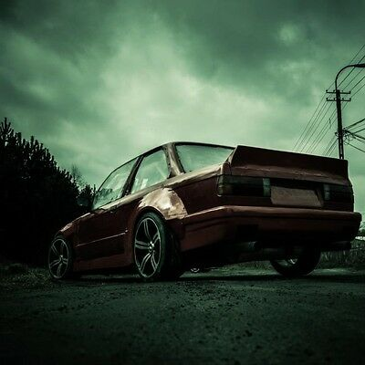 Bmw E30 Spoiler Rocket Bunny Drift  Trunk Spoiler