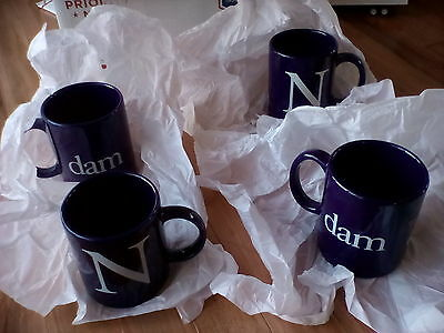 New: Holland American Cups (4-Total); Excellent /new !!