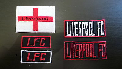 Liverpool Supporters Embroidered Iron On/Sew On Patch Choice of Designs