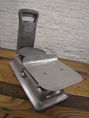 Antique 1921 Exact Weight Over Under Scale Vintage Countertop General Store
