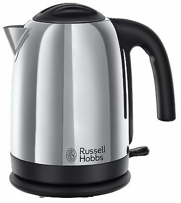 Russell Hobbs 20071 , 1.7 L Stainless Steel Cordless Electric Kettle Jug New