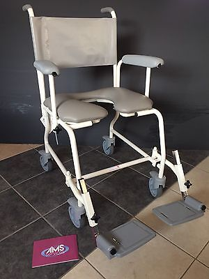 Freeway Shower Chair, Commode, Showering, Bathing & Toileting Aid - Narrow 17in