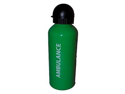 Green Ambulance Aluminium Water Bottle 650ml for Paramedic St John First EMT