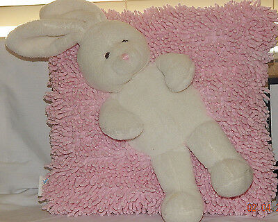 Stephan Baby Pink Bunny Stuff Toy Pillow