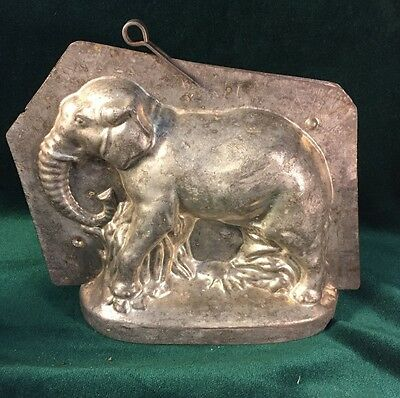 RARE! Very Large Early African Elephant Chocolate Mold Mould ~ Sommet