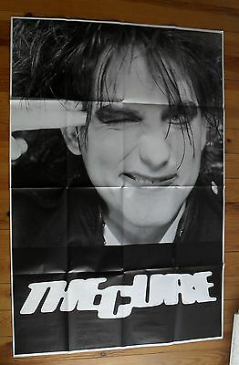 """THE CURE vintage poster huge 59""""x41"""" inch B/W"""