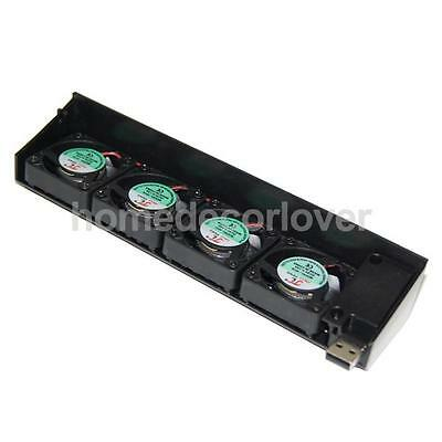 USB Cooling 4 Fan Cooler for Playstation 3 PS3