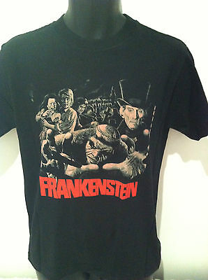 FRANKENSTEIN AND THE MONSTER FROM HELL T-SHIRT Hammer Films NEW SIZE SM & XL