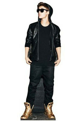 Justin Bieber Gold Shoes Cardboard Cutout Hoodie Collectors Party Gift Prop Wow!