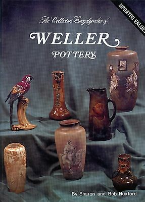 Weller American Art Pottery Patterns Dates Dimensions / Scarce Illustrated Book