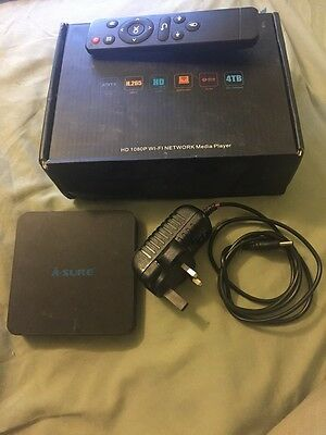 A-Sure XSR Android TV Box