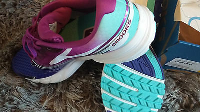 Womens Brooks Launch 2 Running Fitness Sports Athletics Trainers Size 9